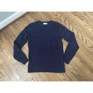 Shades of Grey Michah Cohen Mens Navy Sweater - S